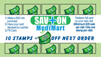 Savon Medimart Frequent Buyer Card